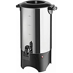 Stainless Steel Coffee Urn - Premium Commercial Double Wall Design - Perfect For Catering, Churches, Banquets, Restaurants