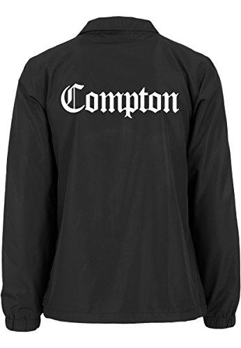 Noir Compton Vestes Coach Tee Mister Veste Pour Homme FSpW0xw