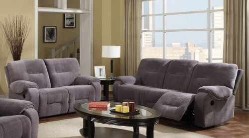 Champion Fabric Motion Sofa Two Piece Set by - Motion Sofa Fabric