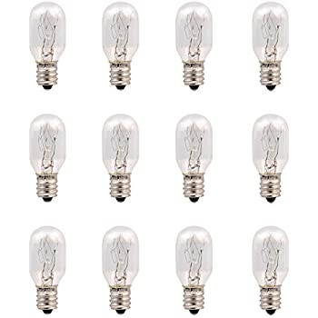 Amazon.com: 25 Watt tubular bulbs for Himalayan Salt Lamps ...
