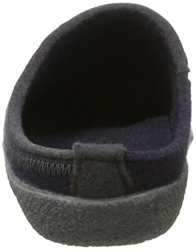 Haflinger Blizzard Flax - Zapatillas Unisex adulto Azul (Mittelblau)