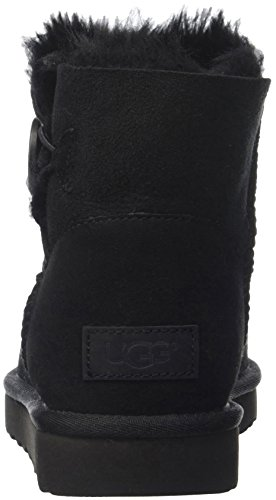 Alto a Button Scarpe Bailey Donna Nero Mini UGG Collo Australia Pp1Ogg