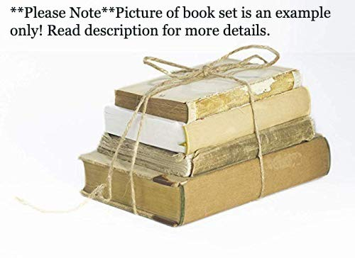 (Books for Decorating - Ultra Vintage Distressed Books)