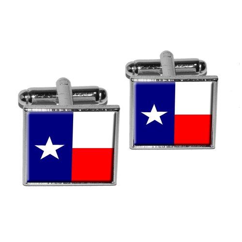 Texas Flag Square Cufflink Set