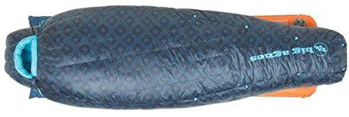 Big Agnes Sidney SL 25┬░ 650 DownTek Women's Sleeping Bag (Blue Shibori Print