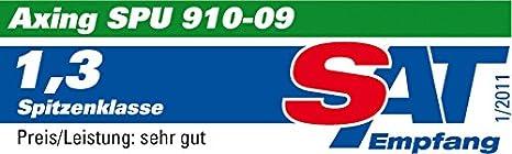 6 sorties extensible /économie d/énergie Axing SPU 96-09 DiSEqC Multiswitch commutateur multiple 9 entr/ées
