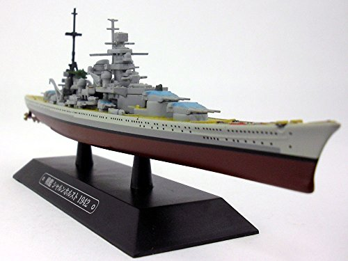 (German Battleship Scharnhorst 1/1100 Scale Diecast Metal Model Ship)