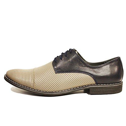 Modello Davide - main en cuir italien Colorful Chaussures uniques Hommes