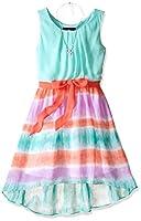 Amy Byer Girls' Sleeveless Tye Dye Hi Lo...