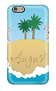 Iphone Case - Tpu Case Protective For Iphone 6- August Summer