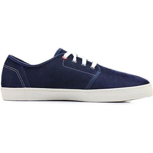 Timberland Herren Sneaker Newport Bay Suede Plain Toe Blu