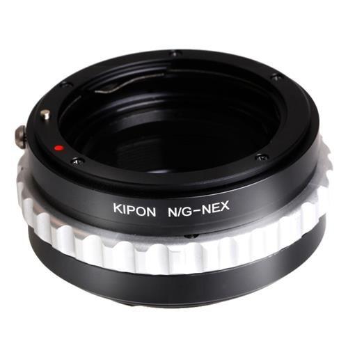 Kipon Nikon G Lens to Sony E-Mount Camera Lens Adapter (with Macro Helicoid Feature) -  KP-LA-NEX-NKG-WM