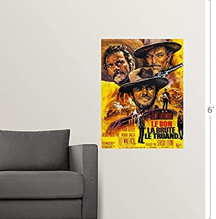 Amazon.com: GREATBIGCANVAS Poster Print Entitled The Good ...