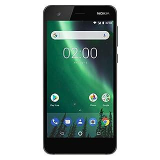 "Nokia 2 - Android - 8GB - Dual SIM Unlocked Smartphone (AT&T/T-Mobile/MetroPCS/Cricket/H2O) - 5"" Screen - Black - U.S. Warranty"