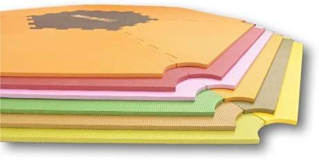 Le tapis puzzle pour enfants adapt/é au parc Strolch/® ou ONE4all 1+5 rouge//marron tapis de jeu /¡Mattimo