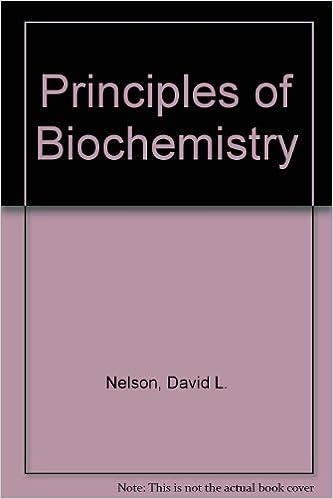 Principles Of Biochemistry Chime Cd Rom Albert Lehninger David L