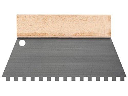 TOOLLAND–he928250Spatule à dents 8mm x 8mm, 250mm de largeur 250mm de largeur 174627