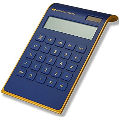 calculator-caveen-slim-blue-business