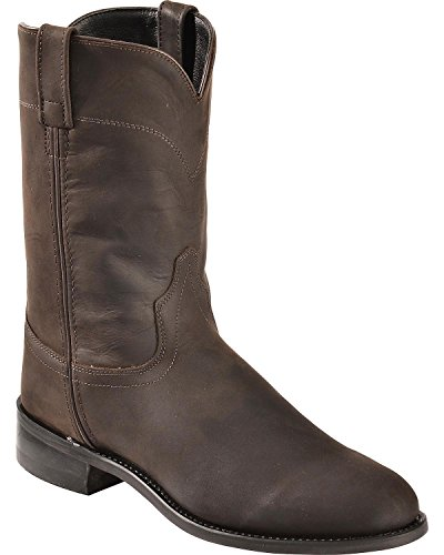 Old West Boots Men's Joseph Brown Distress 10 D US ()