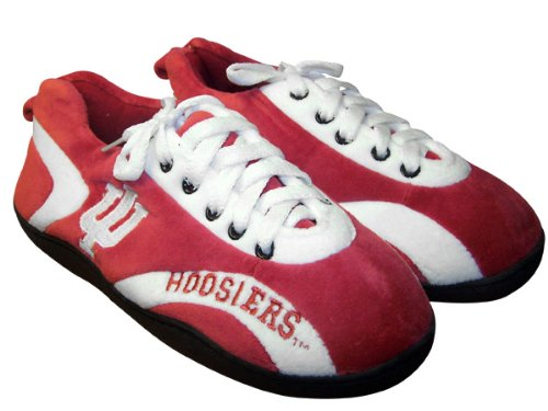 Happy Feet Mens and Womens NCAA College All Around Slippers Indiana Hoosiers CxIZ9