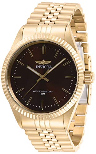 invicta watches brown dial - 3