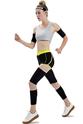 Roseate Body Wraps for Arms Thighs and Legs Slimmers Reduce Cellulite Sweat Neoprene