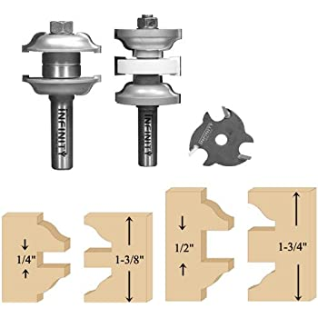 Interior Exterior Door Router Bit Set Door And Window Router