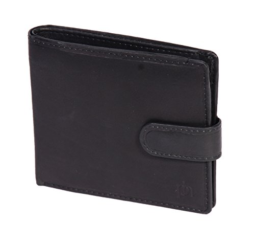 Purse Bifold ID Wallet Of Credit Black Card Leather Ottawa Banknotes Gift Leather Boxed House Mens nFRv8xqw