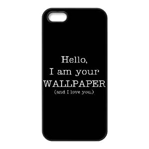 im your and i love you iPhone 4 4s Cell Phone Case Black DA03-201742