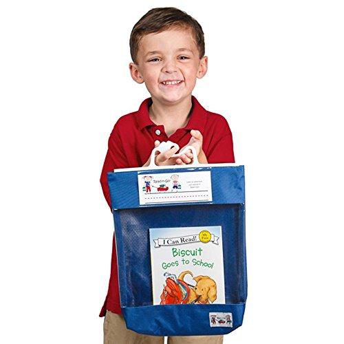 Seat Sack 00080 Read-N-Go Book Bag, 11-1/2' x 14-1/2' Size, Blue