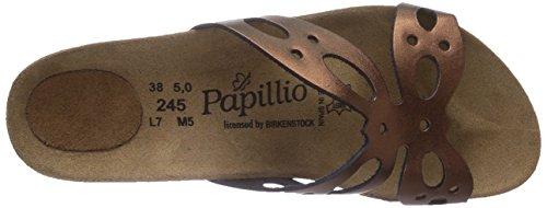 bronze Sandales Femme Papillo Marron Metallic Butterfly pqwfIpO50