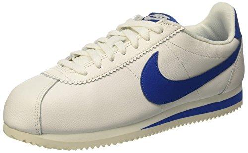 Nike Herren Classic Cortez Gymnastikschuhe Blau (Sail/blue Jay)