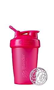 Blender Bottle Classic Loop Top Shaker Bottle, 20-Ounce, Full Color Pink