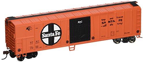 Santa Fe Bachmann Ho Scale - Bachmann Trains Santa Fe 50' Steel Refrigerated Car-Ho Scale