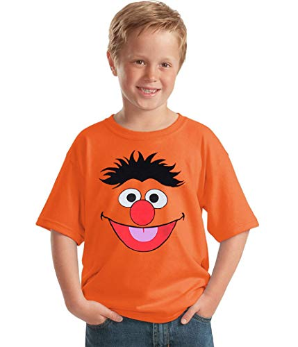 (Sesame Street Ernie Face Youth T-Shirt-Youth Small [6/8])