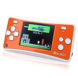 "WOLSEN 2.5"" Color Portable Handheld Game Console w/152 Games & speaker (Orange)"