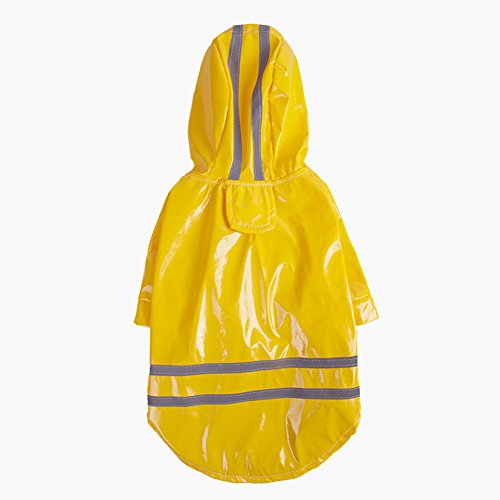 Product image of Topsung Dog Raincoat Pet Poncho with Hood Waterproof Rain Coat Jacket for Small Dogs
