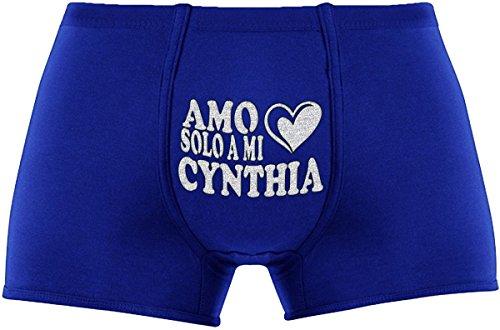 Regalos Amo De Cynthia Los Para Azul Mi Hombre Originales A Divertidos Aniversario Solo Más Hq1wHnaF