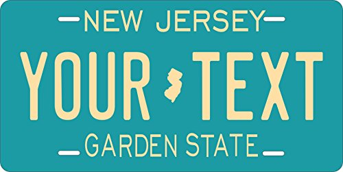 New Jersey 1979 Ver2 Personalized Tag Vehicle Car Moped Bike Bicycle Motorcycle Auto License Plate