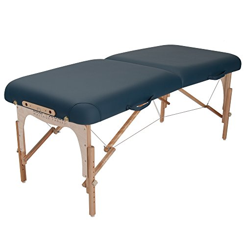 Inner Strength E2 Portable Massage Table Package Full Reiki - Incl. Deluxe Adjustable Face Cradle, Pillow & Carrying Case