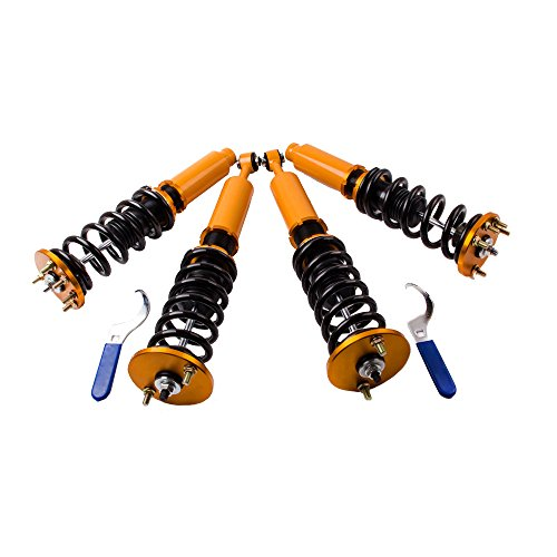 for 2004-2008 Honda Acura TSX/2003-2007 Honda Accord Coilovers Strut Coil Spring Over Shock