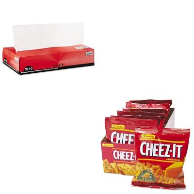KITBCP011010KEB12233 - Value Kit - Packaging Dynamics QF10 Interfolded Dry Wax Paper (BCP011010) and Kelloggs Cheez-It Crackers (KEB12233)