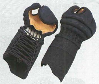 【洗える甲手】 高柳 鐡心5mm総織刺甲手 AxB(cm) 日本製 K-608 (S サイズ)
