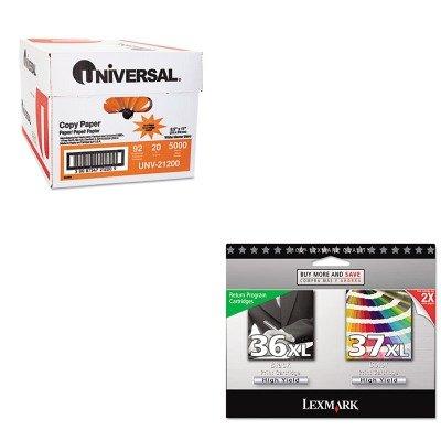 KITLEX18C2249UNV21200 - Value Kit - Lexmark 18C2249 36XL (LEX18C2249) and Universal Copy Paper (UNV21200)