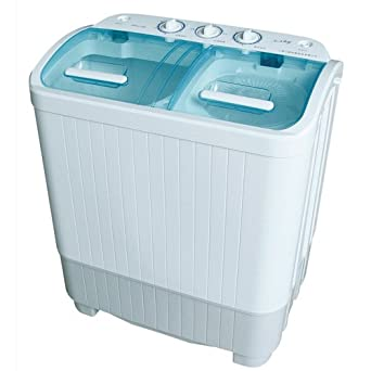 Good ideas portable mini twin tub washing machine capacity with spin dryer 889 ideal for - Small space washing machines set ...