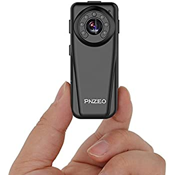 PNZEO F5 Mini Camera 1920x1080P Full HD Infrared night-vision Camera the portable camera recorder Wide-angle sports Cameras Body-worn camera Supports 128GB Micro SD Card