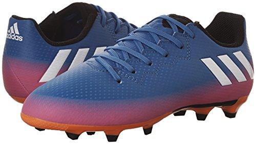 Unisex 3 Fg Adidas warning Messi bambini J 16 white Blue Ragazzo qSwwXUpcE