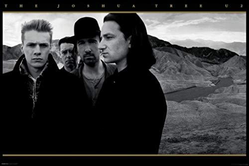 U2 The Joshua Tree Rock Music Album Cover Poster 36x24 - Cover Rock Album