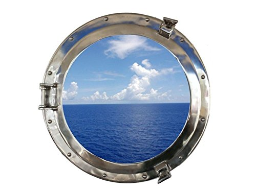 Hampton Nautical MC-1965-20 CH - W Chrome Ship Porthole Window 20