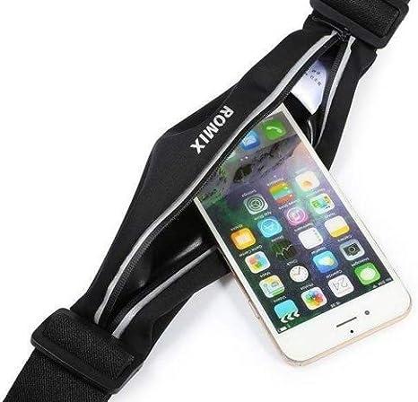 ULTRICS® camino de cinturón de running resistente al agua Cintura Pack bolsa para iPhone 6S/6S Plus transparente pantalla táctil ventana con accesorios Gear & funda auriculares para correr senderismo camping y más: